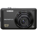 Olympus VG-120 14 Megapixel Compact Camera - 4.70 mm-23.50 mm - Black