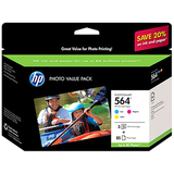 HP 564 Ink Cartridge - Cyan, Magenta, Yellow CG925AC#140