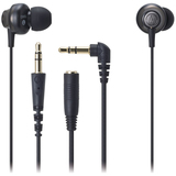 Audio-Technica ATH-CKM55 Earphone - Stereo - Black - Mini-phone