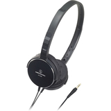Audio-Technica ATH-ES55 Headphone - Stereo - Black - Mini-phone - ATHES55BK