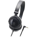 Audio-Technica ATH-SJ11 Headphone - Stereo - Black - Mini-phone