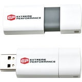 EP Memory EPCLW/8GB-2.0 8 GB Flash Drive - White
