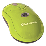 PC Treasures Mighty Mini Mouse - Wireless - Radio Frequency - Green