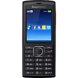 Sony Ericsson J108a Cedar Cellular Phone - Bar - Black, Silver
