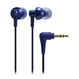 Audio-Technica ATH-CKL200 Earphone - Stereo - Blue - Mini-phone