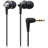 Audio-Technica ATH-CK303MSV Earphone - Stereo - Silver - Mini-phone