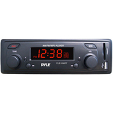 Pyle PLR16MPF Car Flash Audio Player - 160 W - LCD - Single DIN - PLR16MPF