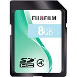 Fujifilm 600008956 8 GB Secure Digital High Capacity (SDHC) - 600008956
