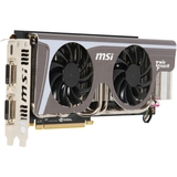 MSI N580GTX TWIN FROZR II/OC GeForce GTX 580 Graphics Card - 800 MHz Core - 1.50 GB GDDR5 SDRAM - PCI Express 2.0 x16
