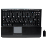 Gear Head KB4950TPW Keyboard - Wireless - RF - Black