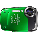 Fujifilm FinePix XP30 14.2 Megapixel Compact Camera - 5 mm-25 mm - Green