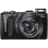 Fujifilm FinePix F550EXR 16 Megapixel Compact Camera - 4.40 mm-66 mm - Black