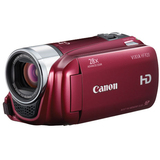 "Canon VIXIA HF R20 Digital Camcorder - 3"" - Touchscreen LCD - CMOS - Full HD - Red 4905B005"