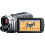 "Canon VIXIA HF R200 Digital Camcorder - 3"" - Touchscreen LCD - CMOS - Full HD - Silver 4906B002"