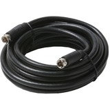 Steren 205-423BK Coaxial A/V Cable - 15 ft