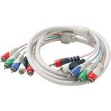 Steren 257-606IV Component A/V Cable for Monitor - 72'