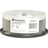 Verbatim DataLifePlus 97284 Blu-ray Recordable Media - BD-R DL - 6x - 50 GB - 25 Pack Spindle
