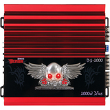 Power Acoustik DEMON D4-1000 Car Amplifier - 80 W RMS - 1 kW PMPO - 4 Channel - Class AB