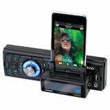 Boss 758DBI Car Flash Audio Player - 52 W - LCD - Single DIN - 758DBI