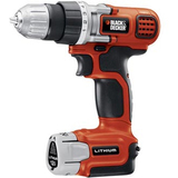 Black &amp; Decker LDX112C Cordless Drill - LDX112C
