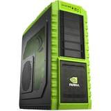 Cooler Master HAF X NV-942-KKN1 System Cabinet - Full-tower - Green - Steel, Plastic