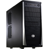 Cooler Master Elite RC-371-KKN1 System Cabinet - Mid-tower - Black - Steel, Plastic