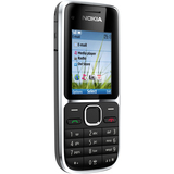Nokia C2-01 Cellular Phone - Bar - Black