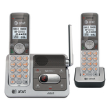 AT&T CL82201 Cordless Phone - DECT - Silver, Black