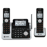 AT&T CL83201 Cordless Phone - DECT - Silver, Black