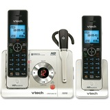 LS6475-3 Cordless Phone with Answering Machine & 2 Handsets LS6475-3