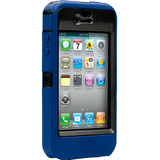 Otterbox Defender APL2-I4UNI-46-E4OTR Carrying Case for iPhone - Zircon Blue, Black