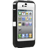 Otterbox Defender APL2-I4UNI-A2-E4OTR Carrying Case for iPhone - Black, White