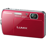 Panasonic Lumix DMC-FP7 16.1 Megapixel Compact Camera - 6.30 mm-25.20 mm - Red