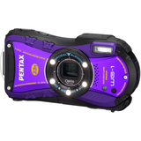 Pentax Optio WG-1 14 Megapixel Compact Camera - 5 mm-25 mm - Purple