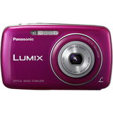Panasonic Lumix DMC-S3 14.1 Megapixel Compact Camera - 5 mm-20 mm - Violet