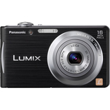 Panasonic Lumix DMC-FH5 16.1 Megapixel Compact Camera - 5 mm-20 mm - Black