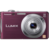 Panasonic Lumix DMC-FH5 16.1 Megapixel Compact Camera - 5 mm-20 mm - Violet
