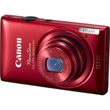 Canon PowerShot 300 HS 12.1 Megapixel Compact Camera - Red 5097B002