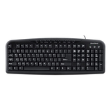 Gear Head KB3600MPU Keyboard - Wired - Black