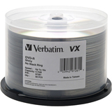 Verbatim 97283 DVD Recordable Media - DVD-R - 16x - 4.70 GB - 50 Pack - 97281