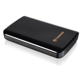 Transcend StoreJet 25D3 750 GB External Hard Drive - Black
