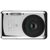 Pentax Optio S1 14 Megapixel Compact Camera - 5 mm-25 mm - Chrome