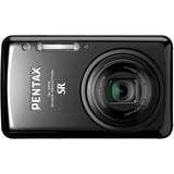 Pentax Optio S1 14 Megapixel Compact Camera - 5 mm-25 mm - Black