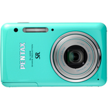 Pentax Optio S1 14 Megapixel Compact Camera - 5 mm-25 mm - Green