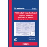Blueline Vehicle's Daily Inspection Report DCB252