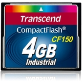 Transcend TS4GCF150 4 GB CompactFlash (CF) Card - Retail