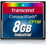 Transcend TS8GCF150 8 GB CompactFlash (CF) Card - Retail