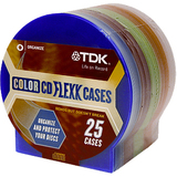 TDK Life on Record 27806-TDK Optical Disc Case
