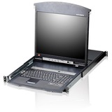 Aten KL1516AM Dual Rail Rackmount LCD KL1516AM