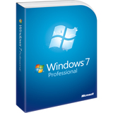 Microsoft Windows 7 Professional With Service Pack 1 64-bit - License and Media - 1 PC FQC-04725